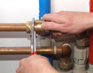 What is the best approach for pipe repair to a water leak