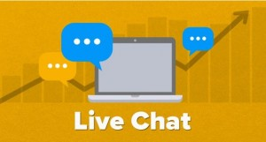 live chat feature in websites