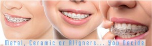 Metal braces are the most basic and common types of braces