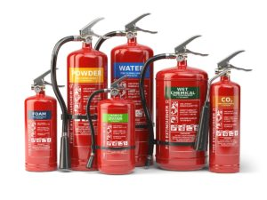 types of fire extinguishers Singapore