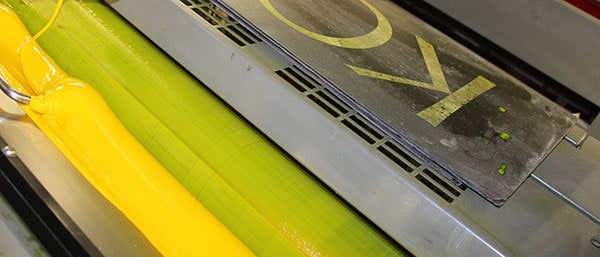 example of offset printing