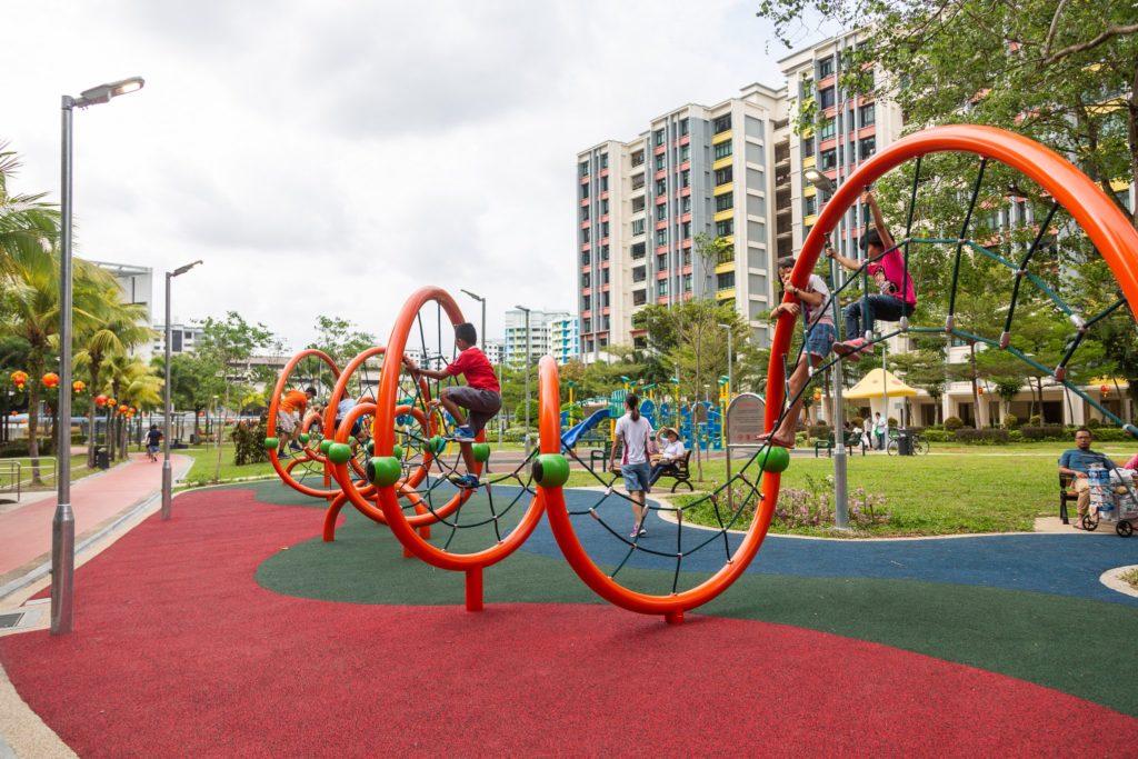 wonderful playground equipment in Singapore