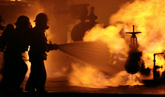Firefighters need to be prepared for extreme conditions