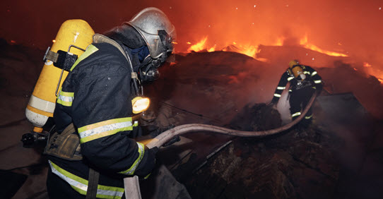 Firefighters need a team to fight alongside